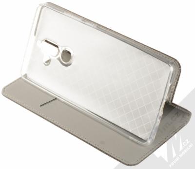 Forcell Smart Book flipové pouzdro pro Nokia 7 Plus černá (black) stojánek