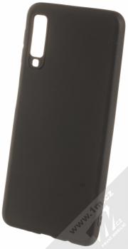 Forcell Soft Case TPU ochranný silikonový kryt pro Samsung Galaxy A7 (2018) černá (black)