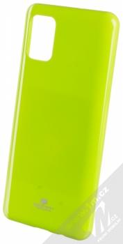 Goospery Jelly Case TPU ochranný kryt pro Samsung Galaxy A51 limetkově zelená (lime green)