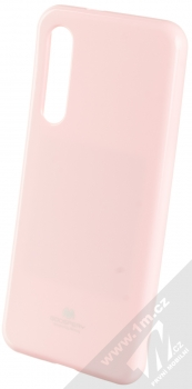 Goospery Jelly Case TPU ochranný silikonový kryt pro Xiaomi Mi 9 SE světle růžová (light pink)