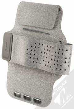 Huawei Fitness Armband originální sportovní pouzdro na paži pro mobilní telefon od 5.2 do 6.0 palců šedá (gray) zezadu