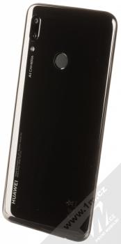 Huawei P Smart (2019) černá (midnight black) šikmo zezadu