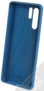 Huawei Silicone Case originální ochranný kryt pro Huawei P30 Pro modrá (blue) zepředu