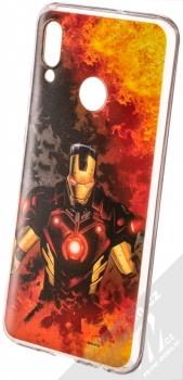 Marvel Iron Man 003 TPU ochranný silikonový kryt s motivem pro Huawei P Smart (2019) oranžová (orange)
