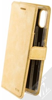Molan Cano Issue Diary flipové pouzdro pro Huawei Nova 3i zlatá (gold)