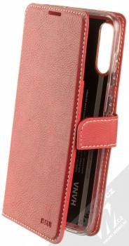 Molan Cano Issue Diary flipové pouzdro pro Samsung Galaxy A70 červená (red)