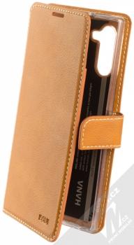 Molan Cano Issue Diary flipové pouzdro pro Samsung Galaxy Note 10 hnědá (brown)