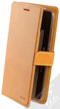 Molan Cano Issue Diary flipové pouzdro pro Xiaomi Pocophone F1 hnědá (brown)