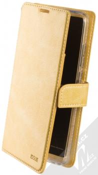 Molan Cano Issue Diary flipové pouzdro pro Xiaomi Redmi 8A zlatá (gold)