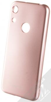 Molan Cano Jelly Case TPU ochranný kryt pro Honor 8A růžově zlatá (rose gold)