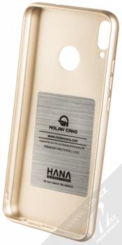 Molan Cano Jelly Case TPU ochranný kryt pro Honor 8X zlatá (gold) zepředu