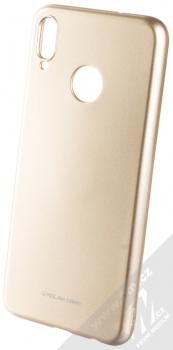 Molan Cano Jelly Case TPU ochranný kryt pro Honor 8X zlatá (gold)