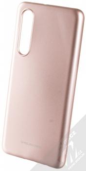 Molan Cano Jelly Case TPU ochranný kryt pro Huawei P30 růžově zlatá (rose gold)