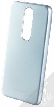 Molan Cano Jelly Case TPU ochranný kryt pro Nokia 5.1 Plus blankytně modrá (sky blue)
