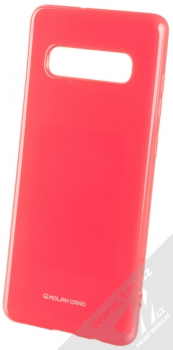 Molan Cano Jelly Case TPU ochranný kryt pro Samsung Galaxy S10 Plus sytě růžová (hot pink)