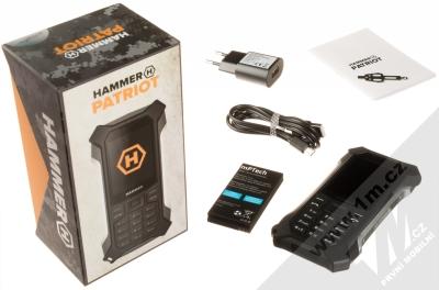 MyPhone Hammer Patriot stříbrná (silver) balení