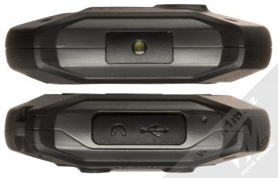 MyPhone Hammer Patriot stříbrná (silver) seshora a zezdola