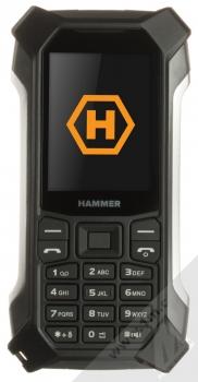 MyPhone Hammer Patriot stříbrná (silver) zepředu