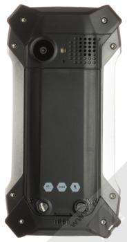 MyPhone Hammer Patriot stříbrná (silver) zezadu