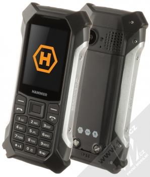MyPhone Hammer Patriot stříbrná (silver)