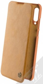 Nillkin Qin flipové pouzdro pro Huawei P30 Lite hnědá (brown)