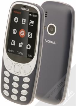 Nokia 3310 Dual SIM (2017) + pouzdro Golla v ceně 199Kč ZDARMA tmavě modrá (dark blue)