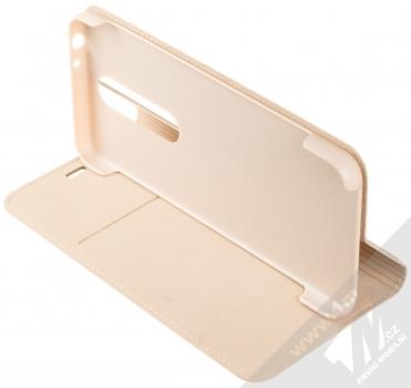 Nokia CP-251 Entertainment Flip Cover originální flipové pouzdro pro Nokia 5.1 Plus béžová (cream) stojánek