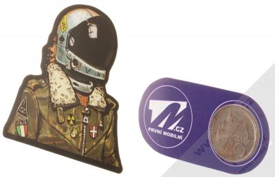 Samolepka Kosmonaut ostřílený pilot 1 měřítko
