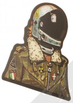 Samolepka Kosmonaut ostřílený pilot 1