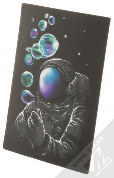 Samolepka Kosmonaut vyfukuje bublifukem naši galaxii 2