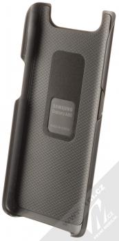 Samsung EF-PA805CB Standing Cover originální ochranný kryt se stojánky pro Samsung Galaxy A80 černá (black) zepředu
