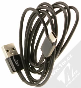 Samsung EP-LN920BB originální nabíječka do auta s USB výstupem a Samsung EP-DG950CB originální USB kabel s USB Type-C černá (black) kabel komplet