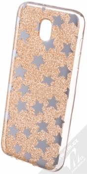 Sligo Glitter Stars třpytivý ochranný kryt pro Samsung Galaxy J5 (2017) zlatá (gold)