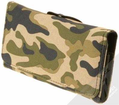 Sligo Leather Belt Army horizontální pouzdro na opasek pro mobilní telefon, mobil, smartphone do 5,1