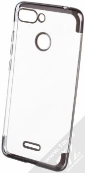 Sligo Plating Soft TPU pokovený ochranný kryt pro Xiaomi Redmi 6 černá (black)