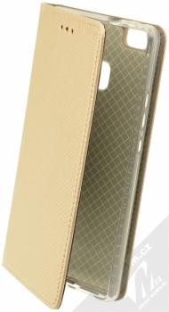 Sligo Smart Magnet flipové pouzdro pro Huawei P9 Lite zlatá (gold)