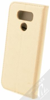Sligo Smart Magnet flipové pouzdro pro LG G6 zlatá (gold) zezadu