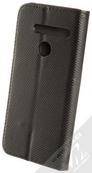 Sligo Smart Magnet flipové pouzdro pro LG G8 ThinQ černá (black) zezadu