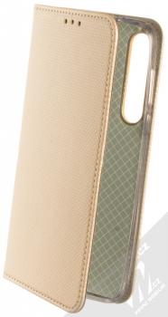 Sligo Smart Magnet flipové pouzdro pro Moto G8 Plus zlatá (gold)