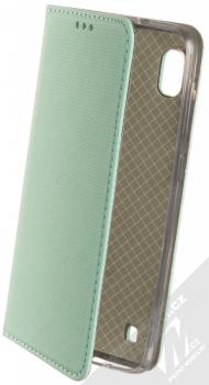 Sligo Smart Magnet flipové pouzdro pro Samsung Galaxy A10 mátově zelená (mint green)