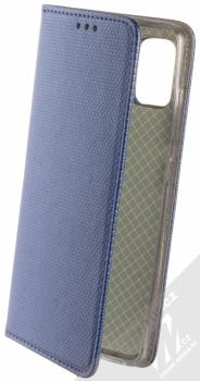 Sligo Smart Magnet flipové pouzdro pro Samsung Galaxy A51 tmavě modrá (dark blue)