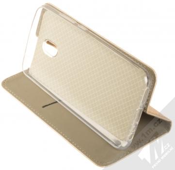 Sligo Smart Magnet flipové pouzdro pro Xiaomi Redmi 8A zlatá (gold) stojánek
