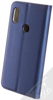 Sligo Smart Magnet flipové pouzdro pro Xiaomi Redmi Note 6 Pro tmavě modrá (dark blue) zezadu