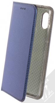 Sligo Smart Magnet flipové pouzdro pro Xiaomi Redmi Note 6 Pro tmavě modrá (dark blue)