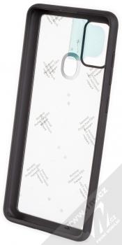 Spigen Ultra Hybrid odolný ochranný kryt pro Samsung Galaxy A21s černá (matte black) zepředu