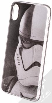 Star Wars Stormtrooper 001 TPU ochranný silikonový kryt s motivem pro Apple iPhone XS Max černá (black)