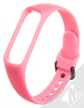 Tactical Single Color Strap silikonový pásek na zápěstí pro Samsung Galaxy Fit e růžová (pink)