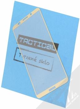 Tactical Tempered Glass ochranné tvrzené sklo na kompletní displej pro Huawei Mate 10 Pro zlatá (gold)