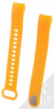 Tactical Vertical Lines Strap silikonový pásek na zápěstí pro Honor Band 3 oranžová (orange)