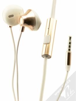 USAMS Ejoy sluchátka s mikrofonem a ovladačem zlatá (gold)